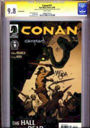 Conan #31 Variant CGC Comic Signature Series SS 9.8 Signed Mike Mignola & Cary Nord comic book